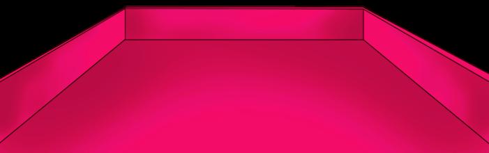 Vassoio rosa di San Valentino