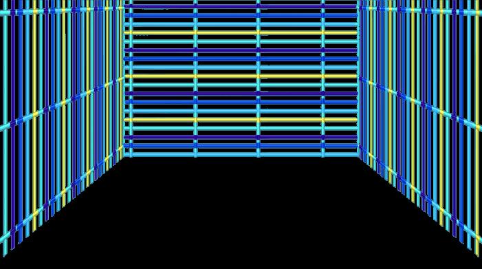 Griglia blu