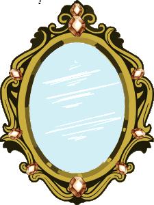 Specchio di cristallo