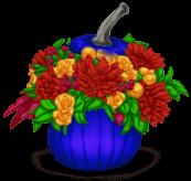 Vaso di fiori di Halloween