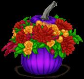 Vaso di fiori di Halloween 2018