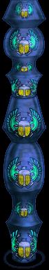 Colonna dello scarabeo di Halloween 2018