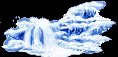 Pattinatore a cascata