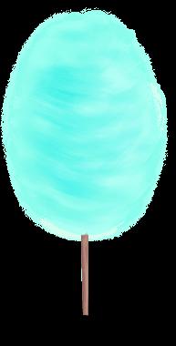 Zucchero filato 3 anni