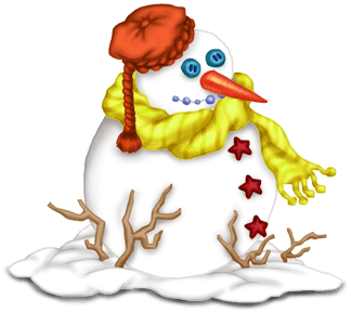 Pupazzo di neve Natale