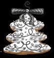 Albero di Natale decorativo di Natale