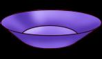 Piatto viola