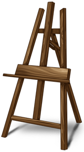 Cavalletto del pittore