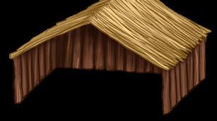 Grande maisonnette in legno