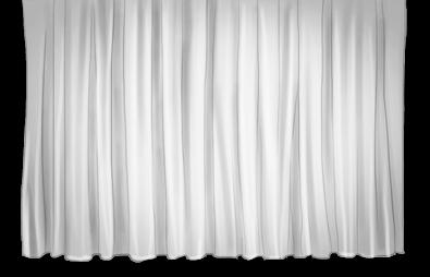 Tenda di sfondo dell'artista