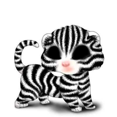 Adotta un Furetto Zebra