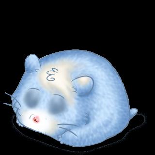 Adotta un Criceto Blu pastello