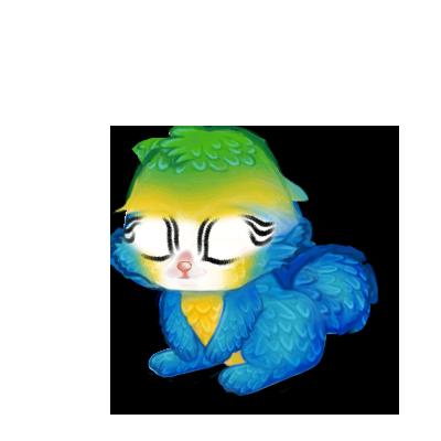 Adotta un Coniglio Ara blu