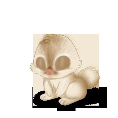 Adotta un Coniglio Marrone Beige