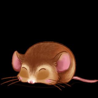 Mouse Beige dorée