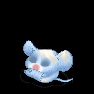 Adotta un Mouse Blu pastello