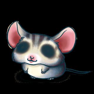 Adotta un Mouse Blu grigio