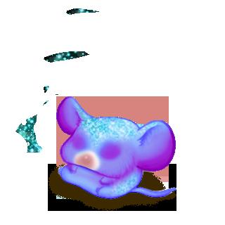 Adotta un Mouse Tigre blu