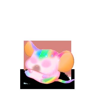 Adotta un Mouse Peluche blu
