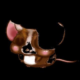 Adotta un Mouse Beige dorato