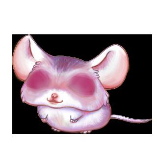 Adotta un Mouse Quarzo rosa